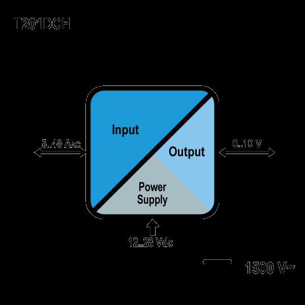 t201dch schemat Przetwornik prądu T201DCH