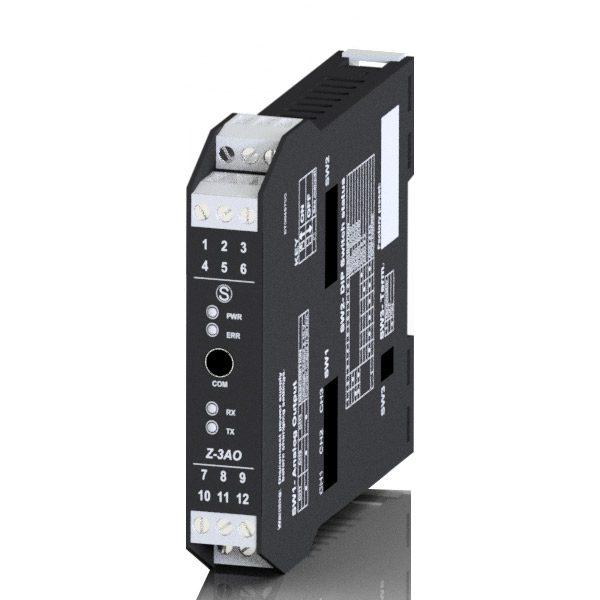 Z-3AO kanałowy moduł wyjść analogowych